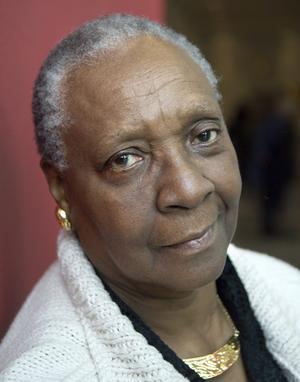 Den karibiska författaren Maryse Condé.