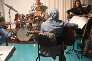 Musikelever på Sigtuna kulturskola.Foto: Fredrik Sandberg/TT