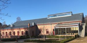 Ventilfabriken vid Engelsbergs bruk i Bergslagen.