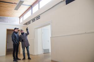 I ett av husen kommer det finnas möjlighet att göra loft till lägenheterna tack vare den takhöjden.