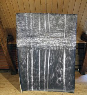 Motiv från Tyresö, av Nino Ramsby.