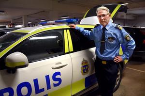 Leif Hemmingsson lämnar – efter 40 år i uniform.