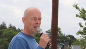 Mats Bigert berättade om Solsnäckan.
