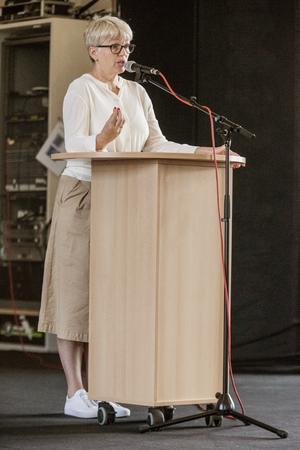 Maria Leonardsson, rektor på Täljegymnasiet.