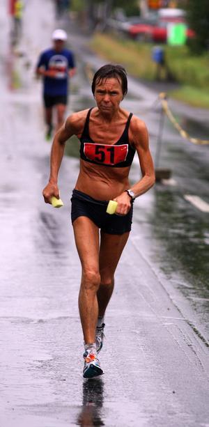 Christina Forssberg var länge en av klubbens duktiga långdistanslöpare.