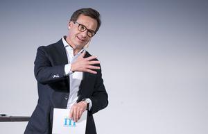 Ulf Kristersson (M) är Sveriges nästa statsminister om Loket Löfven eller Ångtåget-give them hell Åkesson viker ned sig. Foto: Johan Nilsson / TT