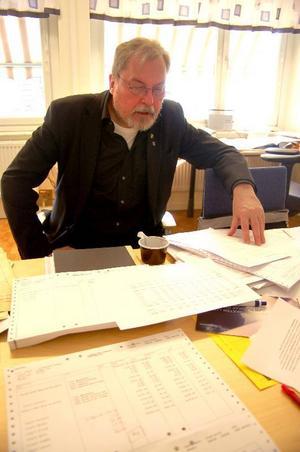 Paul Bergenby, chef på socialförvaltningen i Strömsund,  är orolig över att ansökningar för socialbidrag ökar.Foto: Jonas Ottosson
