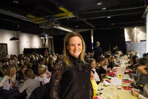 Johanna Robertsson spelade fotboll på elitnivå. Nu siktar hon mot landslagsuppdrag på ledarsidan.