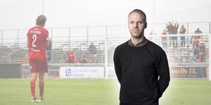 Sportens krönikör Andreas Olsen menar att Tom Pettersson och hans lagkamrater nu får sikta in sig på det som ÖFK genom åren haft mest erfarenhet av: att klara kontrakt. Foto: Thomas Johansson/TT (Montage)