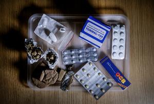 Cannabis är elevernas favoritdrog, men polisen ser hur användningen av tabletter har exploderat.