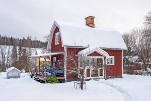 Villa med två rum på Hagalundsvägen i Grycksbo. Foto: Mikael Tegner