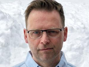 Rickard Eriksson, platschef, Kvarnsvedens pappersbruk. Foto: Stora Enso
