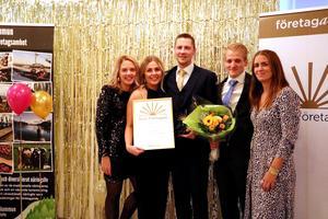 Årets företagare.  Foto: Bergs kommun