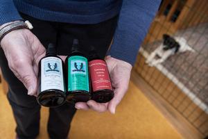 En hund kan i princip läras att hitta vilka dofter som helst. Tävlingsmässigt i Sverige används tre olika dofter. Eukalyptus, lagerblad och lavendel.