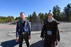 Heiko och Franz passerar Flötningen och når Norge som land 40 på den fem år långa vandringen.