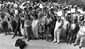 Studenter 1984.