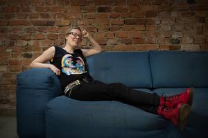 Foto: Jessica Gow/TT. Författaren Helena Österlund skrev stora delar av den självbiografiska boken