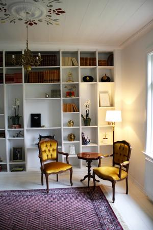Biblioteket/whiskyrummet.