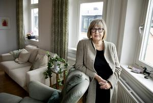 Litteraturprofessorn Lisbeth Larsson. Foto: Emil Malmborg.