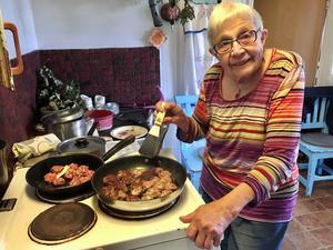 Stina Åslin, Haddäng, Gnarp blev 89 år gammal.
