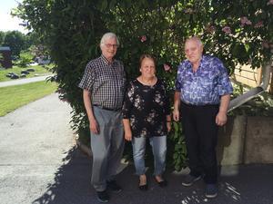 Göte Waara, Ulla-Britt Pettersson och Bertil Pettersson tycker familj, kultur och miljö är de viktigaste frågorna i valrörelsen.