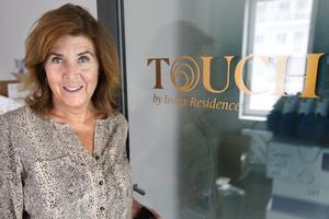 – I Touch konceptet har vi förutom den digitala plattformen alltid bemanning med concierge, då vi vet hur viktigt det är med det personliga mötet, säger Marie Hallberg på Index Residence.