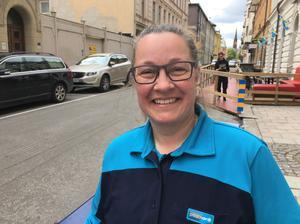 Lena Lindholm.