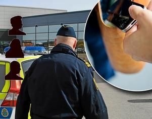 Under julhandeln sker många fickstölder i och runt handelsområdena i Borlänge – här ger polisen sina tips för att undvika att bli besluten.