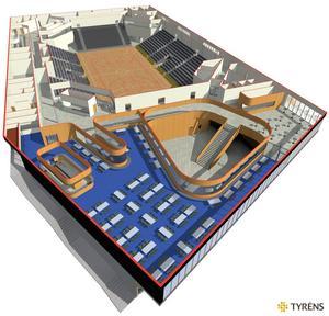 Den nya arenan har skjutits på framtiden. Nu ser det ut som de att de politiska blocken ska komma med ett gemensamt förslag. Bild: Sundsvalls kommun