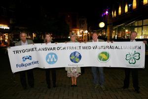 Comeback för Västeråsalliansen? Bilden från 2006.                        Foto: Peter Krüger