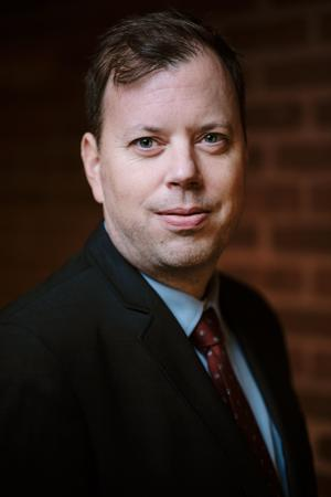 Magnus Åberg, ekonomidirektör vid Norrtälje kommun. Foto: Johan Guthed