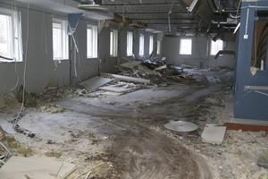 För ett par år sedan användes detta utrymme till matrum och kontor.