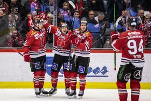 Örebro visade klass mot Frölunda och tog fjärde raka segern. Bild: Johan Bernström/Bildbyrån