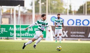 Carlos Gaete Moggia spelade sin första timme för säsongen mot Sandviken.