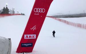 Andreas Pranter i målhanget i Åre