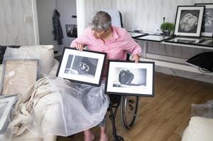 Maria Jansson fick en idé att fotografera grönsaker till en utställning.
