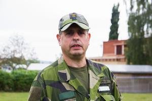 Roberto Gonzalo var på plats under räddningsledningens pressträff på lördagen.