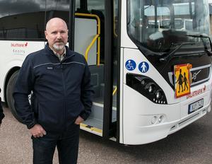 Pär Karlsson, områdeschef för Keolis, har inte varit med om någon liknande händelse tidigare.