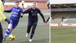 BILDEXTRA: Härnösands SK och Högakusten möttes i träningsmatch – inför tomma läktare på Högslätten