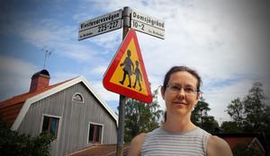 Eleonora Nordgren bor i korsningen  mellan Vivstavarvsvägen och Domsjögränd.