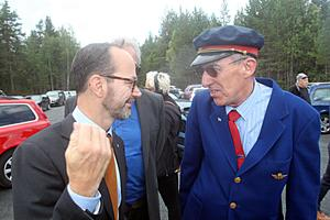 Tomas Eneroth fick en pratstund med Bengt Erik Björklund som i 30 år var färgstark stins  i Malung.