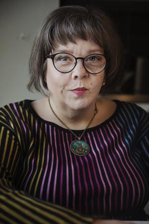 Åsa Strahlemo, förbundsordförande, DHR – Delaktighet, Handlingskraft, Rörelsefrihet. Foto: Privat