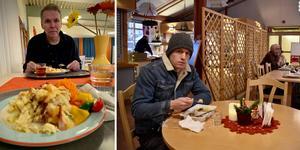 ST:s reportrar Leif Johansson och Pontus Hellsén kunde äta lunch på äldreboenden – i strid mot kommunens egna regler.