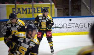 Karl Henriksson gjorde 15 matcher med SSK – det är oklart om det blir några fler, men Frölundacentern kommer gärna tillbaka igen.