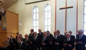 Från konserten i Missionskyrkan. Fotograf: Kerstin Olsson