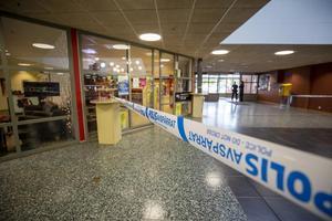 I september mördades  man i 25-årsåldern inne i gallerian i Andersbergs centrum. Enligt vittnesuppgifter blev han knivhuggen. Skadorna ska främst ha varit i buken, enligt polisuppgifter.