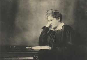 Lydia Wahlström från Västerås var en av pionjärerna bland de liberala kvinnor som kämpade för rösträtt, berättar insändaren. (Foto: Stockholmskällan)