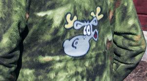 Från början var jackan en Hälge-filt, som Ulla sydde om för Lars räkning. Ett exempel på de olika Hälge-produkter vid sidan av serierna som har presenterats genom åren.