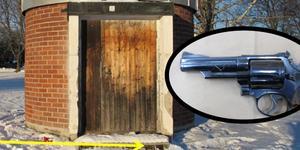 Vapnet påträffades en timme efter skotten i Kvarnsveden.