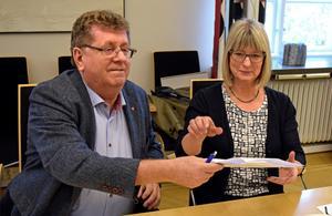Den 17 oktober 2018 var den nya majoriteten färdig med sina förhandlingar och företrädarna för bland annat de två största partierna, Jan Bohman (S) och Karin Örjes (C) kunde glada skriva på ett program med 100 politiska punkter.